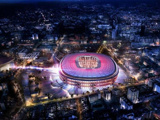 Camp Nou, Barcellona, nuovo Camp Nou