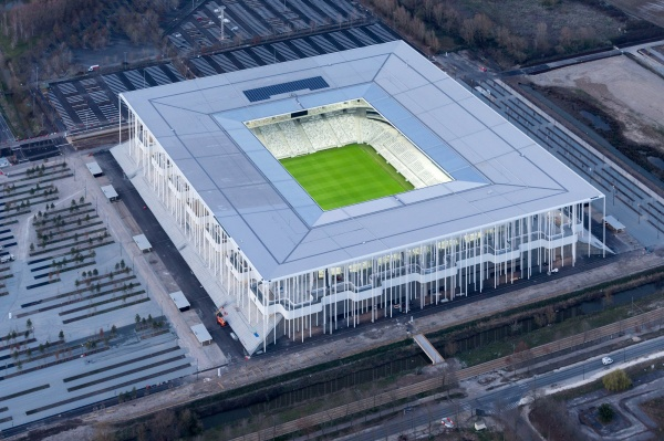 Lo stadio di Bordeaux