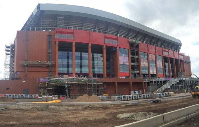 Liverpool nuovo Anfield Road