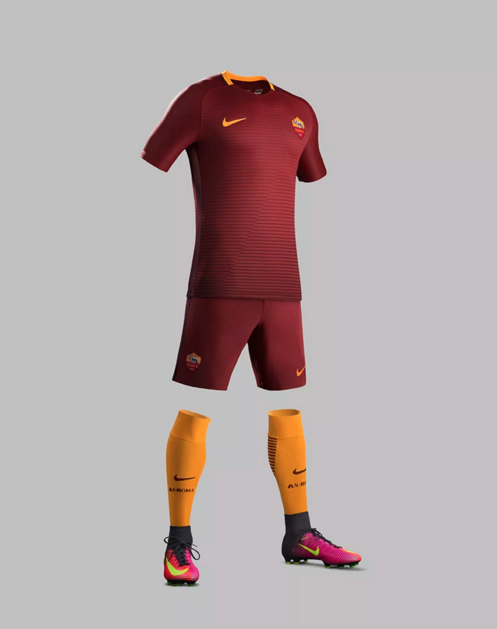 Divisa home Roma 2016-2017 - AS Roma