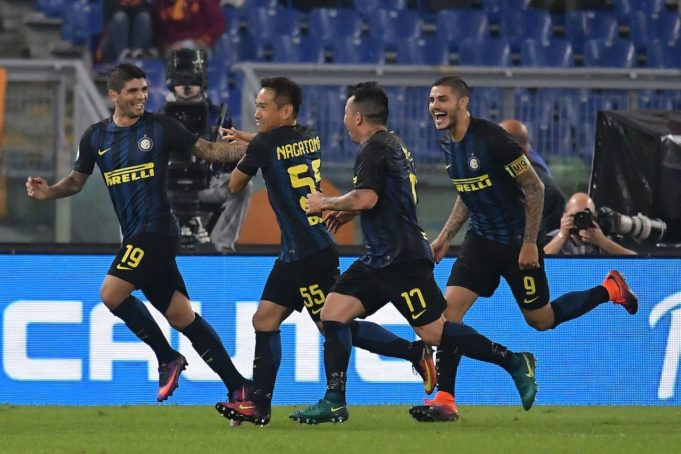 dove vedere Inter-Napoli Tv streaming