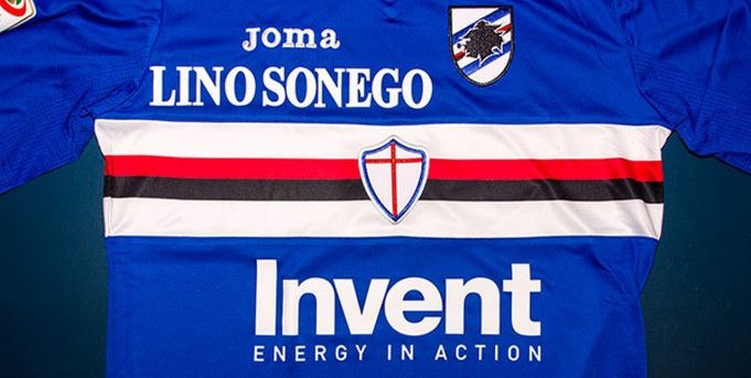 Invent main sponsor Sampdoria