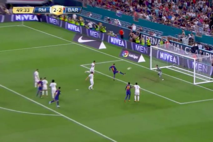 real madrid barcellona 2-3 video highlights