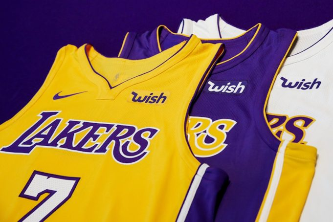 los angeles lakers sponsor wish