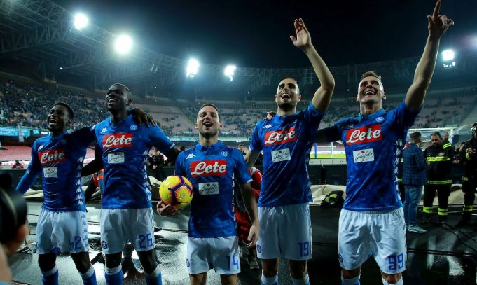 Napoli partnership Seven