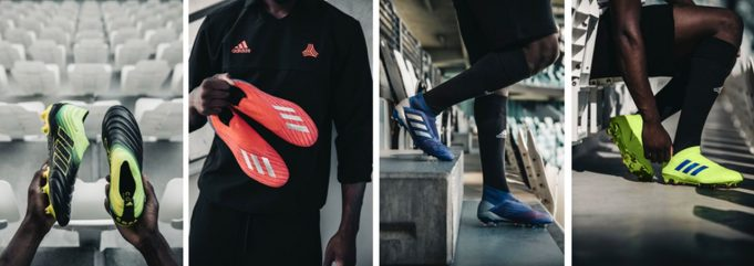 Adidas Football Pack Exhibit