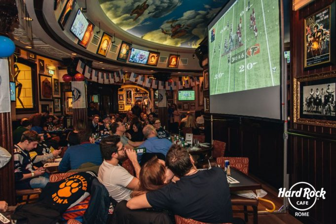 Superbowl 2019 Hard Rock Cafè