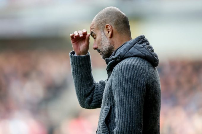 Pep Guardiola ( (Photo by Daniel Chesterton/PHC/Insidefoto)