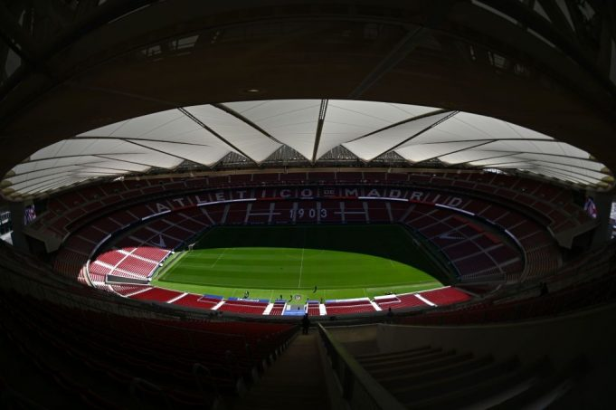 Il Wanda Metropolitano di Madrid (Photo GABRIEL BOUYS/AFP/Getty Images)