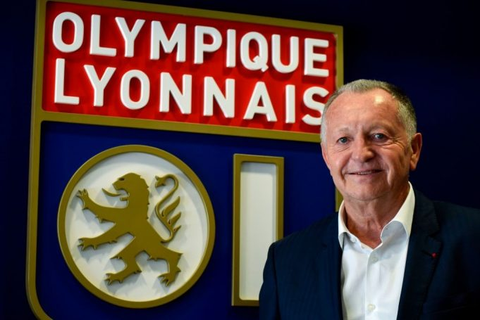 Jean Michel Aulas (Photo credit should read JEAN-PHILIPPE KSIAZEK/AFP/Getty Images)