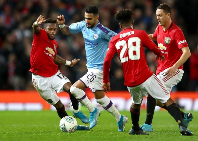 Manchester United Manchester City in streaming