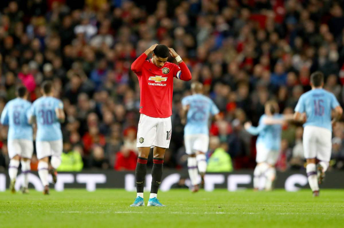 Manchester United v Manchester City- Carabao Cup Semi Final