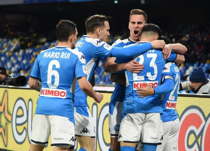 Napoli Lecce in streaming