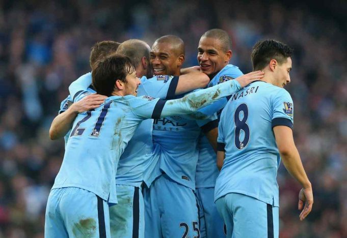 Il Manchester City campione d'Inghilterra 2013/14 (foto: Getty Images)