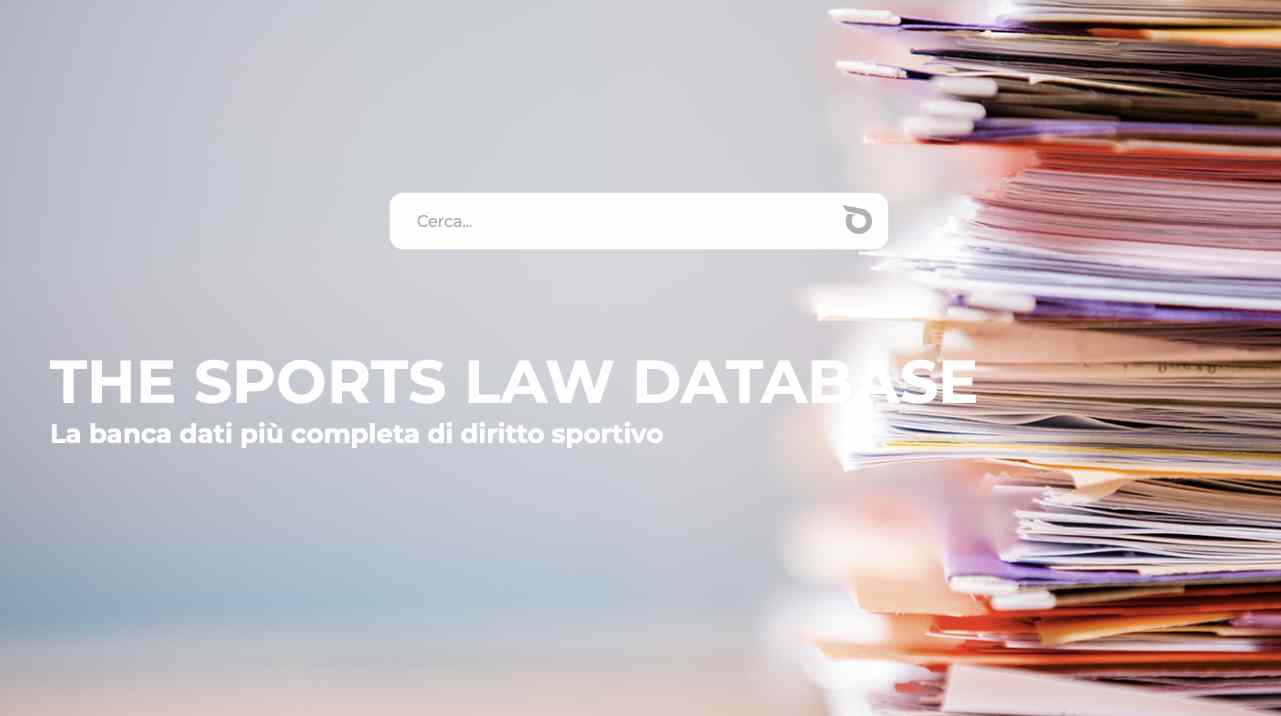 Olimpialex The sports law database
