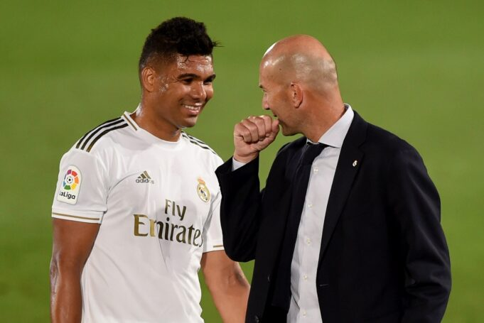 Casemiro stipendio Real Madrid