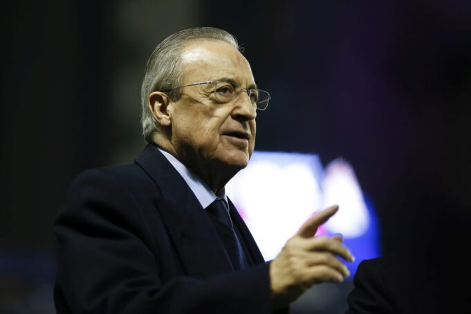 Florentino Perez Superlega europea