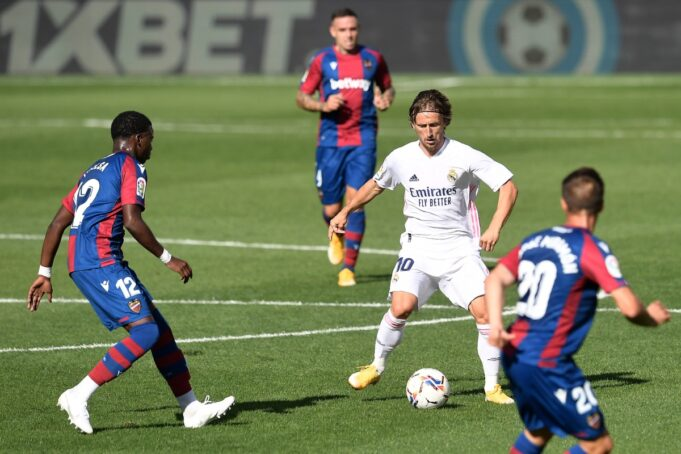 Real Madrid Levante streaming