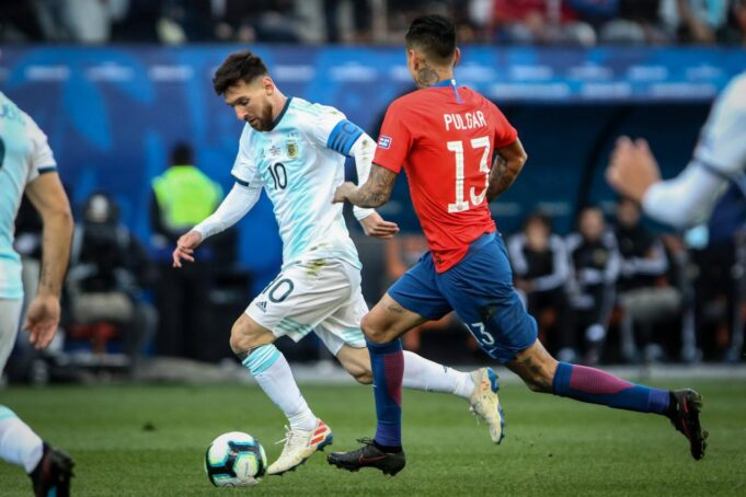 Argentina Cile streaming